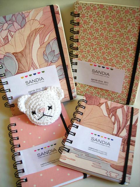 Cuadernos y agendas Sandia ♥