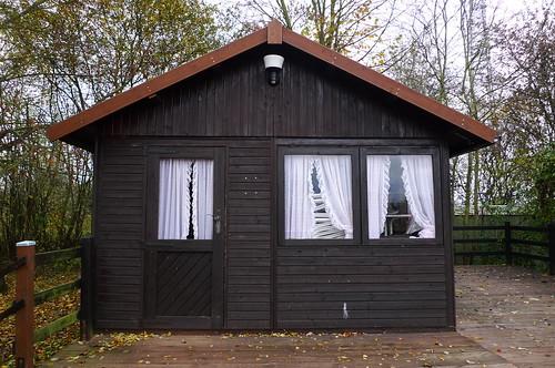 Vereinshütte bei Gronau. November 2010