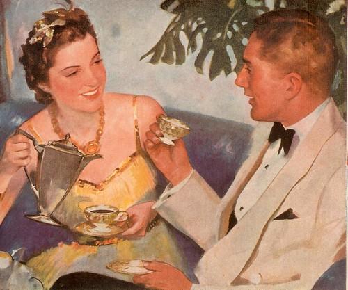 a&p coffee 1939 detail