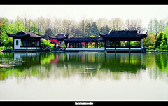 Hangzhou, China  -  (hk_traveller) Tags: china trip travel vacation lake west color green film canon asia flickr explore hangzhou    blueribbonwinner top500