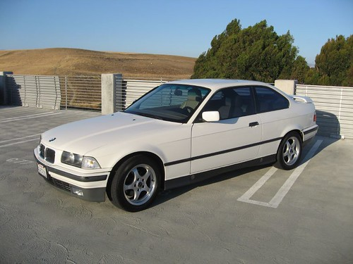 1993 BMW 325is Coupe with rear spoiler