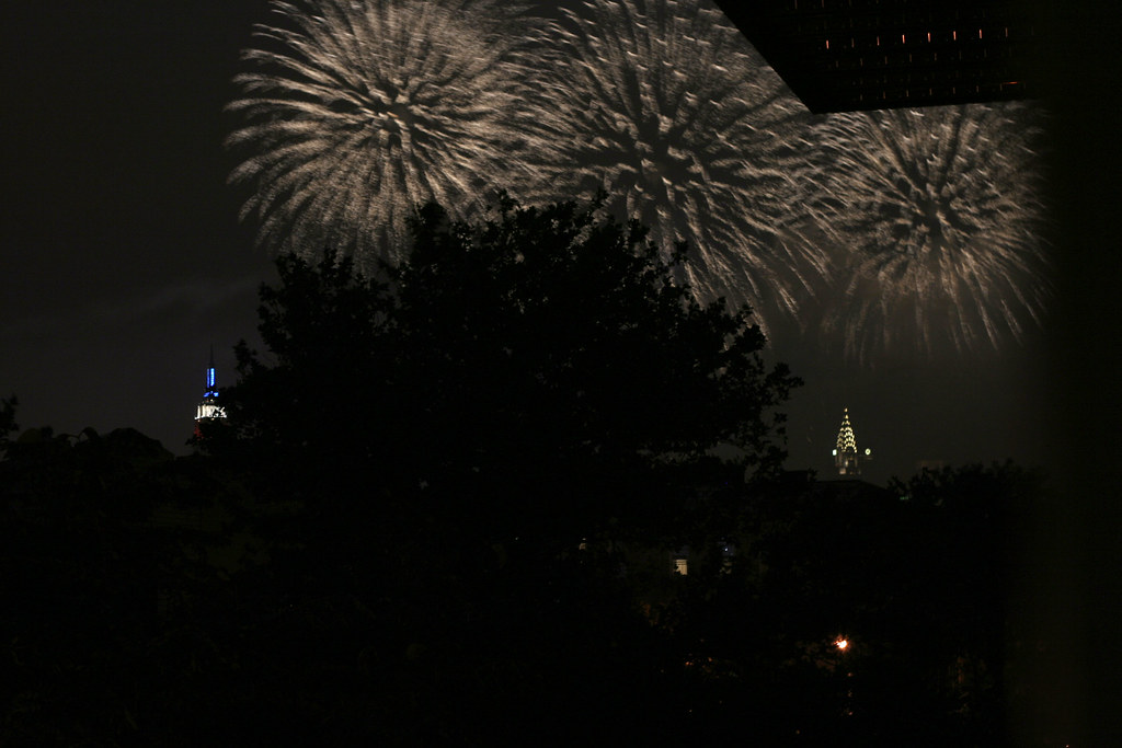 Bursting in air