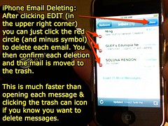 iPhone Email Deleting