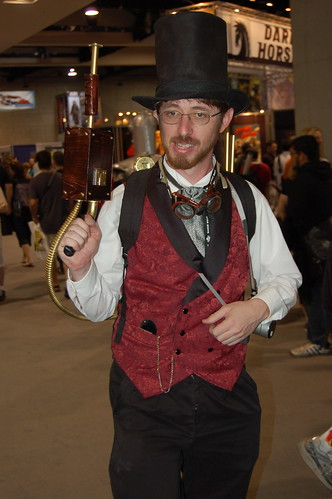 Comic Con 2007: Steampunk Ghostbuster