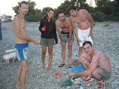fishing at Rovies, Evia Greece (athinaf) Tags: camping friends sunset sea party summer camp people fish love beach water fun island greek seaside fishing holidays warm group salt pals pebbles line greece chilling together ready catch hook hercules hangingout evia rovies