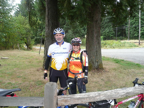 Us at the Banks-Vernonia trailhead