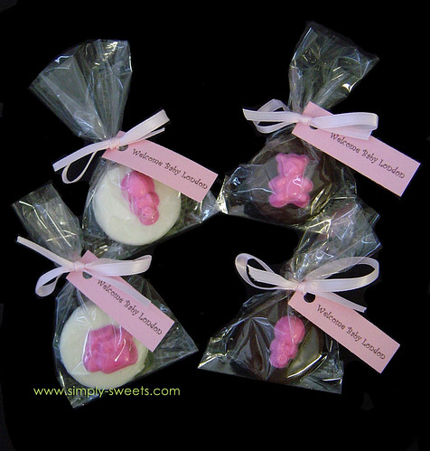 Baby Girl Shower Oreo Party Favors
