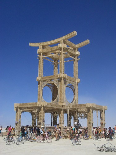 Burning Man Temple