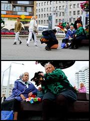 900 rubljej (Sakuto) Tags: old people woman belarus