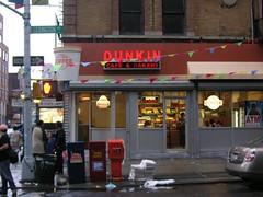 """fake dunkin' donuts shop"" ""dukin cafe harlem"""