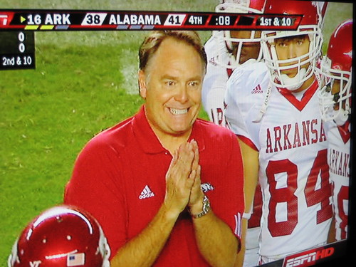 Houston Nutt vs Bama, 2007