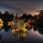 La magie des lanternes 2 - At sunset