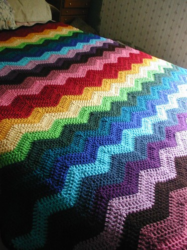 Baby's Quick Ripple Afghan - Crochet Patterns, Free Crochet Pattern