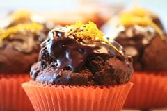 Muffin cioccolato arancia