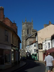 Church Street (crwilliams) Tags: street church norfolk cromer date:year=2006 date:month=september date:day=10 date:wday=sunday date:hour=11