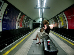 Clapham North (Martin   H) Tags: urban london station transport perspective tubestation northernline 10faves capture36 diamondclassphotographer flickrdiamond