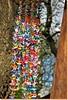 Rainbow of origami birds (♡ Popotito ♡) Tags: wood tree art texture textura argentina colors birds japan arcoiris arbol japanese rainbow madera buenosaires origami colorful arte colores pajaros hanging japon japones japanesegardens handcraft artesania jardinjapones colgando coloreados colourartaward popotito