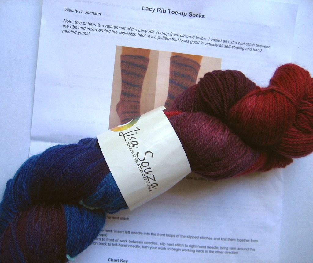 WendyKnits Prize yarn