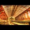 Station (Dimitri Depaepe) Tags: windows red glass station train bravo belgie rails antwerp hdr antwerpen aplusphoto superbmasterpiece frhwofavs thegoldenmermaid theroadtoheaven