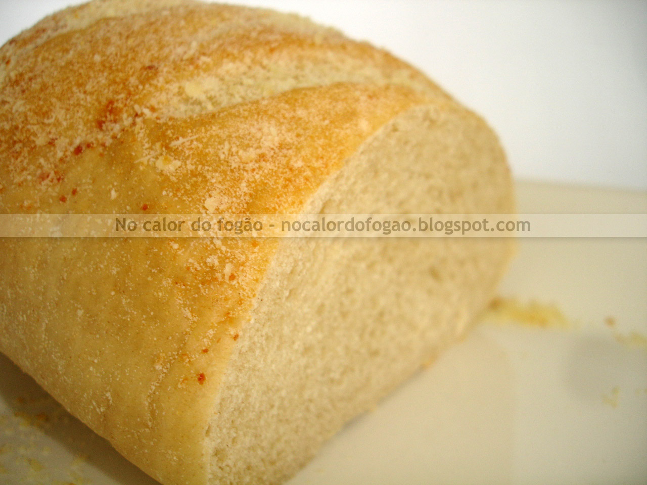 Pão branco rápido