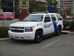 Federal Protective Services Police (10-42Adam) Tags: 3 chevrolet code homelandsecurity 911 tahoe police chevy vehicle government emergency federal patrol unit marked code3 federalprotectiveservices