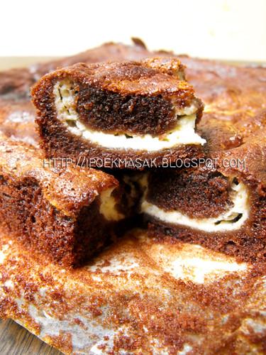 Choco Cheese Marble Cake