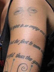 Michelangelo Quotation (kencf0618) Tags: tattoos lgbt michelangelo annmorrisonpark boisepride boisepride2010