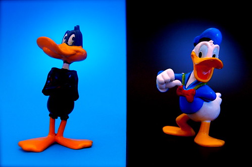 blue favorite fun toy actionfigure photo image action picture disney cc figure duel 365 char donaldduck daffyduck warnerbros onblue day173 looneytunes nogeo inkitchen jdhancock duel365