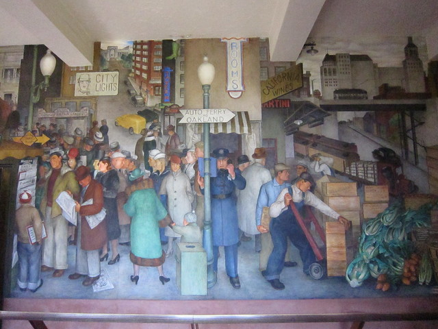 Day Three Coit Tower Mural