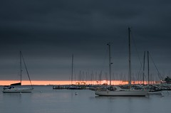 Cloudy Harbor (IRainyDays) Tags: clouds harbor maryland annapolis sailboats nikkor24120f4vr