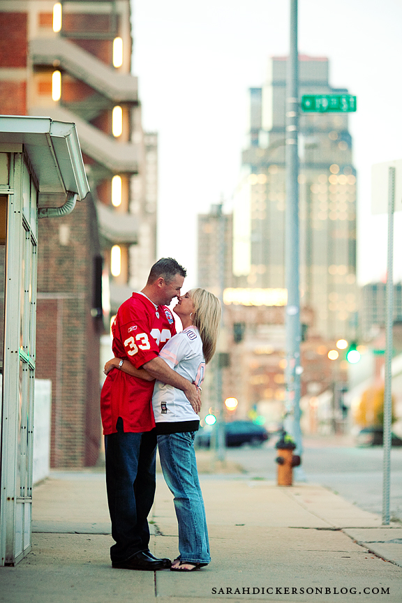 Crossroads Art District engagement photos