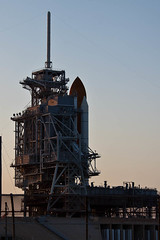 Space Shuttle Discovery STS-133 on Launch Pad 39A