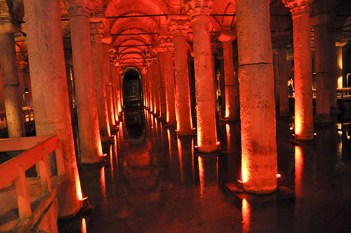 Cisterna de la Basilica - Estambul