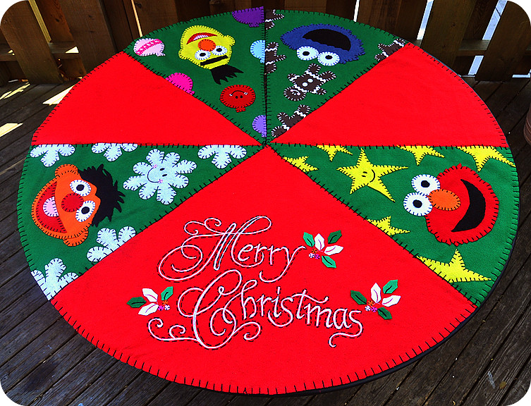 Sesame Street Tree Skirt