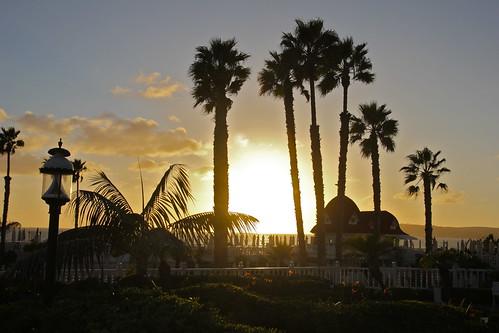 hotel del coronado island. Hotel Del Coronado Sunset