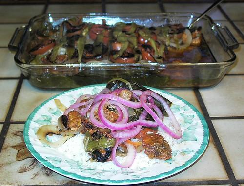 Cochinita pibil (slow-roasted pork Yucatan style)