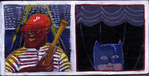 The bat man & Batman