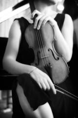 ~ (*maya*) Tags: portrait people blackandwhite bw music bn note musica ritratto biancoenero orton violino violinista strumento supershot