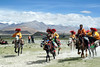 Racing Horsemen in Tingri