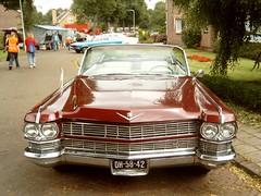 1964 Cadillac Deville Convertible (Davydutchy) Tags: vw golf continental convertible cadillac lincoln deville cabrio uit opel cabriolet vectra redcars markiv oldtimerdag stnicolaasga thebiggestgroup stnyk 07072007 070707 copyrightdavydutchy stnykynekyk