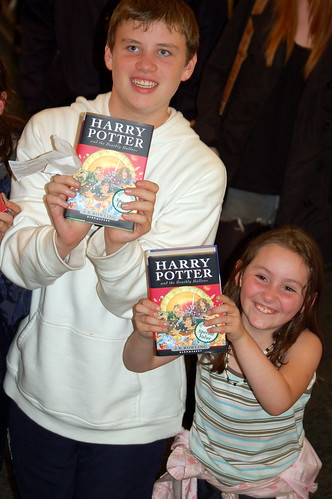 Harry Potter and the Deathly Hallows release, Dublin, Ireland.