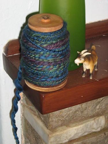 sea lavender plied goat