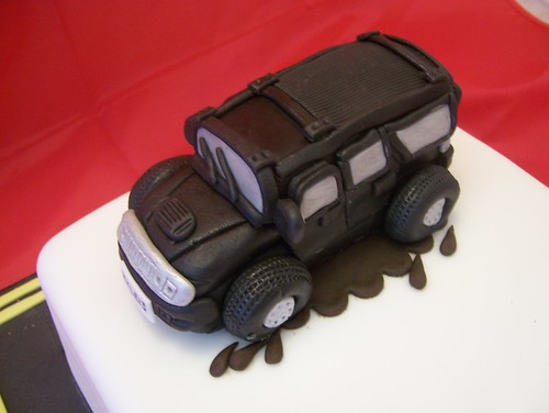 Hummer Jeep Cake Close Up Cake Topper a photo on Flickriver