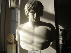 Antinous (keithmaguire ) Tags: light shadow sculpture sunlight jason berlin male art face sunshine statue museum germany greek deutschland hall ancient europe gallery european shadows bright roman chest bust classical marble shoulders atrium statuary allemagne berlim germania alemanha highart duitsland antiquity berlijn pergamon berlino berln  antinous  jerman   antinoo  alemanya berlyn almanya niemcy allemania  nmetorszg     nmecko    ilovemypic c