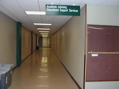 Hall, Advising to Financial Aid 7-20-07 (UWGB_SS_Remodel) Tags: hallways uwgb