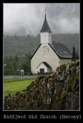Eidfjord Old Church, Norway - by w0LD