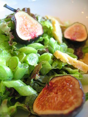 [Image: Fig and green bean salad - Photo: Mike Crooker]