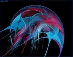 MEDUSA (MONKEY50) Tags: red fantasy digital colours colour colors color black blue art abstract pink fractals fractal apophysis flickraward hypothetical contactgroups