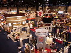 The Show Floor at All Candy Expo