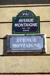 Paris - Avenue Montaigne par wallyg